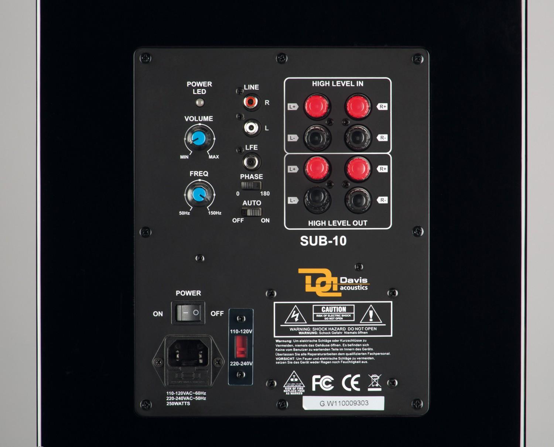 Lautsprecher Stereo Davis Dufy HD im Test, Bild 4