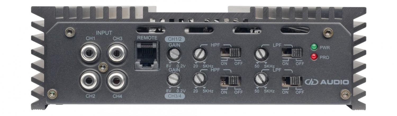 Car-HiFi Endstufe 4-Kanal DD Audio SS4b im Test, Bild 3
