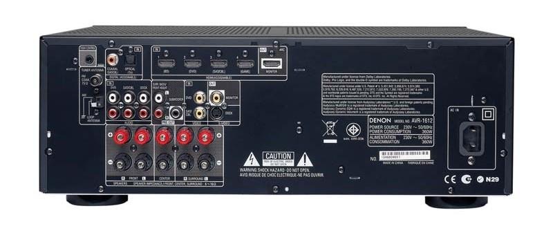AV-Receiver Denon AVR-1612 im Test, Bild 2