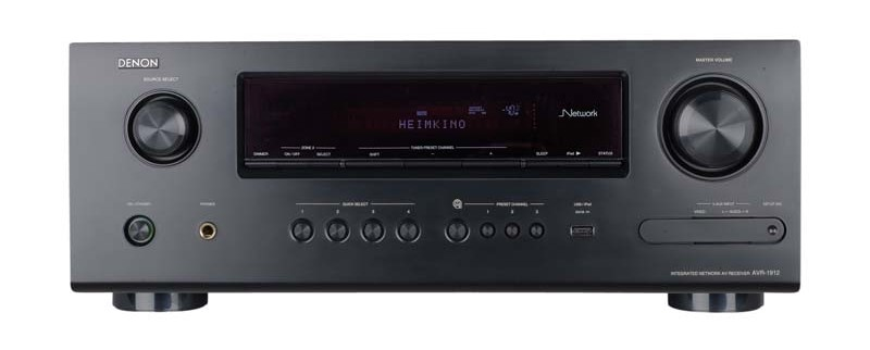 test av receiver denon avr 1912 sehr gut. Black Bedroom Furniture Sets. Home Design Ideas