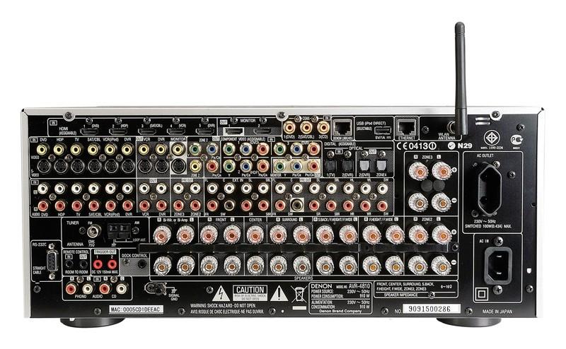 AV-Receiver Denon AVR-4810 im Test, Bild 2