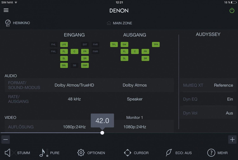 AV-Receiver Denon AVR-X1200W im Test, Bild 2