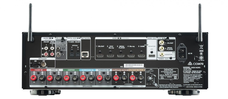 AV-Receiver Denon AVR-X1200W im Test, Bild 5