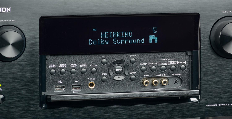 AV-Receiver Denon AVR-X7200W im Test, Bild 4