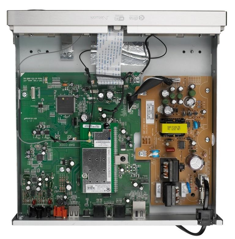 DLNA- / Netzwerk- Clients / Server / Player Denon DNP-F109 im Test, Bild 4
