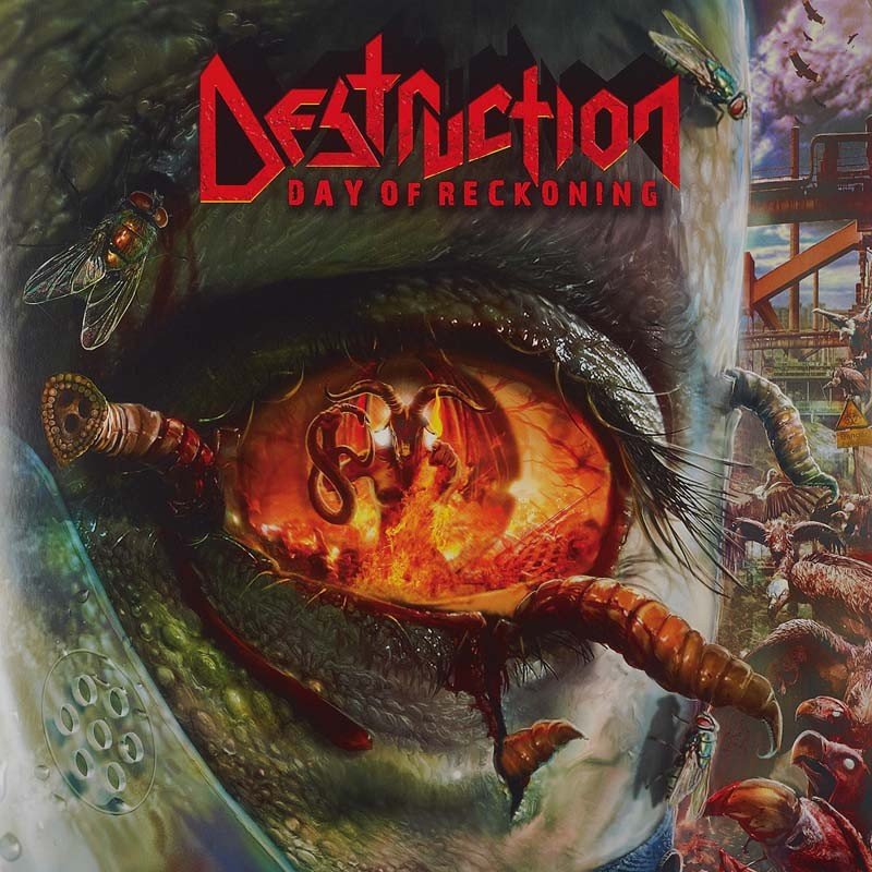 Schallplatte Destruction – Day of Reckoning (Nuclear Blast) im Test, Bild 1