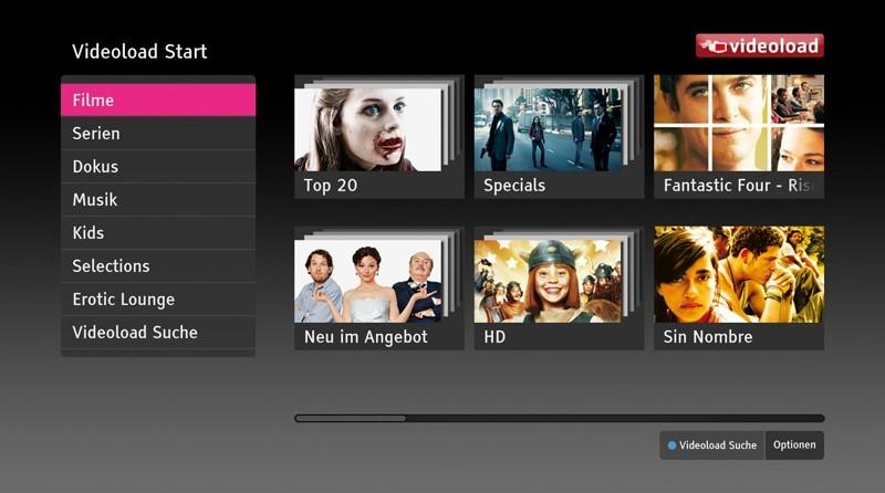 Sat Receiver mit Festplatte Deutsche Telekom Media Receiver 500 Sat im Test, Bild 2