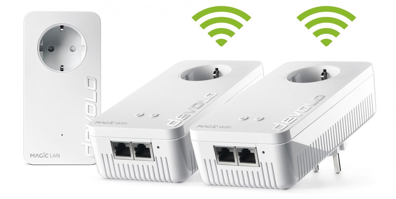 Zubehör Tablet und Smartphone Devolo Magic 2 WiFi next Multiroom Kit im Test, Bild 2