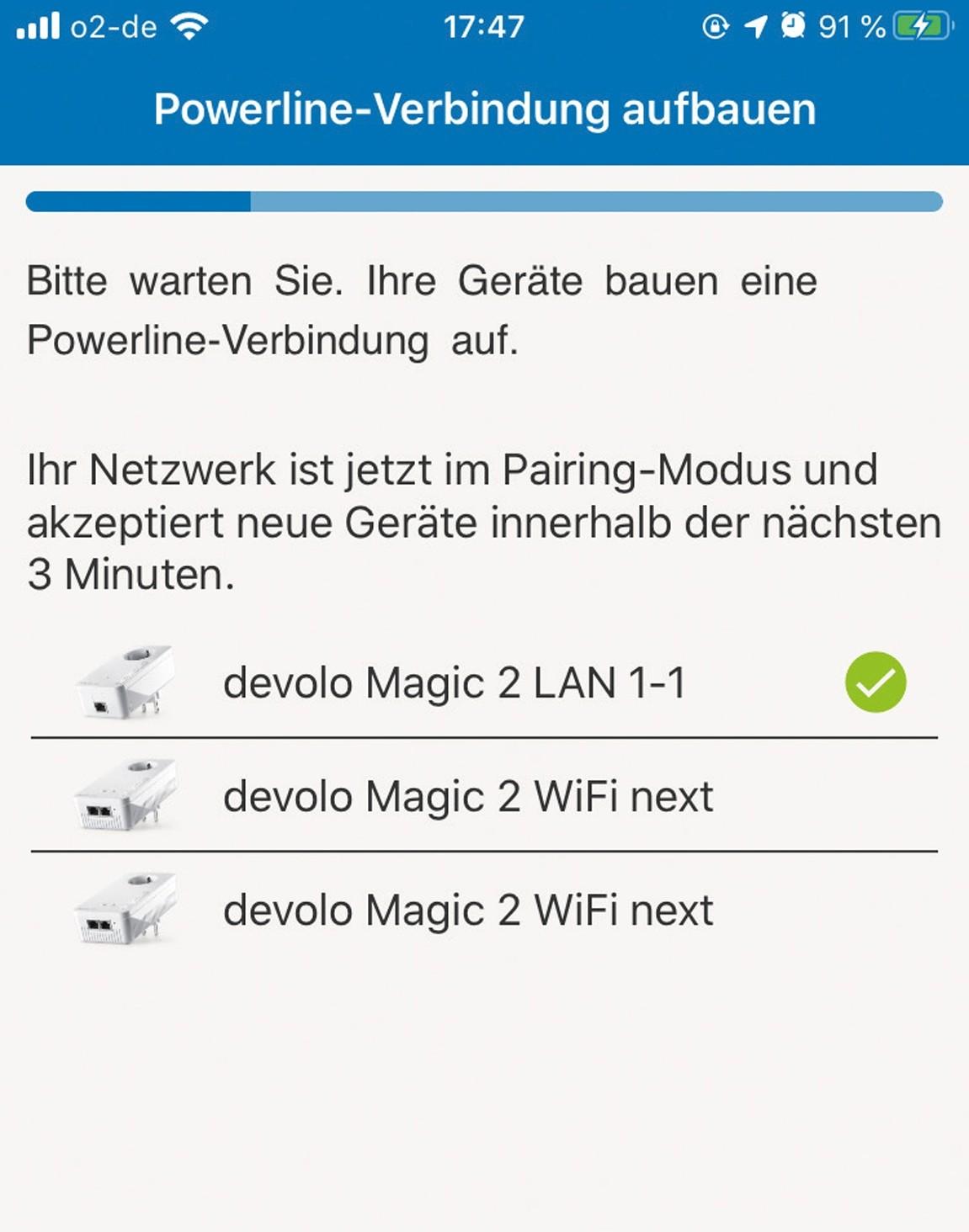 Zubehör Tablet und Smartphone Devolo Magic 2 WiFi next Multiroom Kit im Test, Bild 4