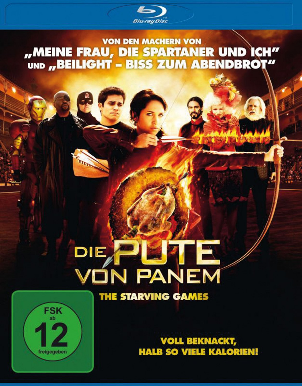 Blu-ray Film Die Pute von Panem – The Starving Games (Wild Bunch) im Test, Bild 1