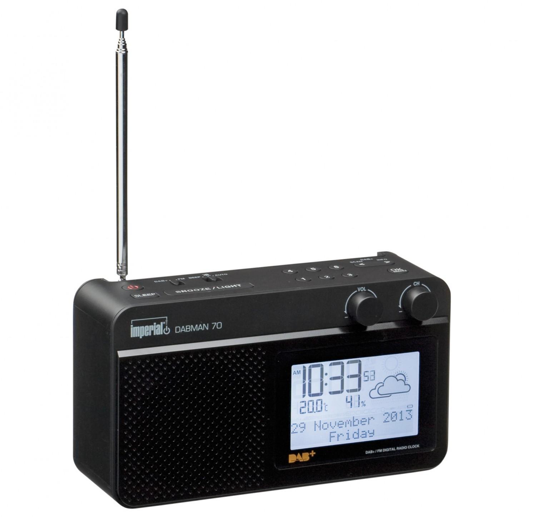 test dab radio digitalbox imperial dabman70 sehr gut. Black Bedroom Furniture Sets. Home Design Ideas