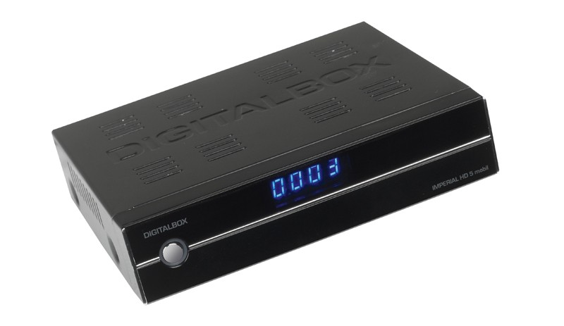 Sat Receiver ohne Festplatte Digitalbox Imperial HD5 mobil im Test, Bild 1