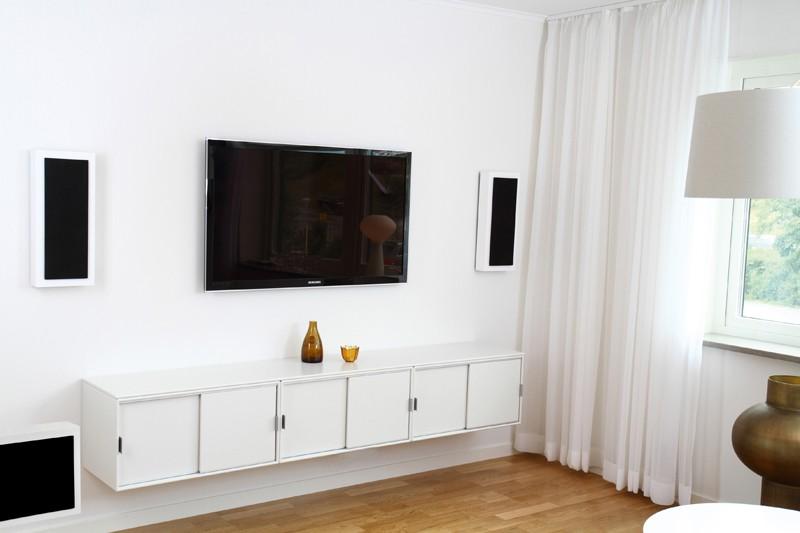 Lautsprecher Surround DLS Flatsub One + Flatbox Midi im Test, Bild 1