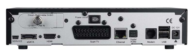 Sat Receiver ohne Festplatte Dream Multimedia DM 800 HD se im Test, Bild 2