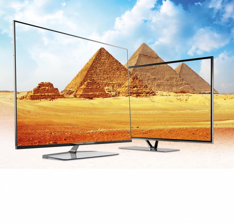Fernseher: Drei TV-Top-Modelle im XXL-Format, Bild 1