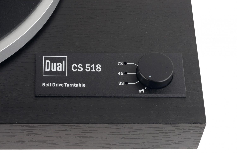 Plattenspieler Dual CS 518 im Test, Bild 5