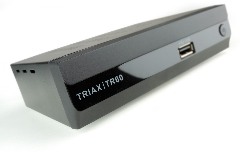 test dvb t receiver ohne festplatte triax tr60 sehr gut. Black Bedroom Furniture Sets. Home Design Ideas