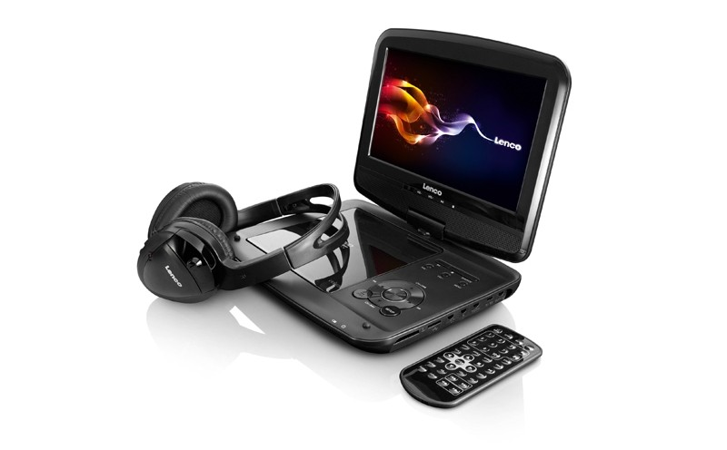 DVD-Monitor-Sets Lenco DVP-937 im Test, Bild 1