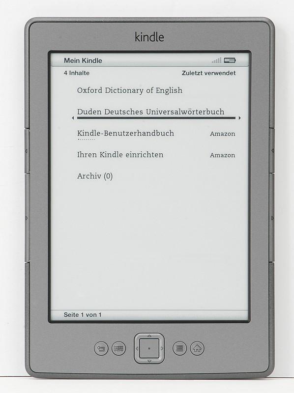 E-Book Reader Amazon Kindle 4 Wi-Fi im Test, Bild 2