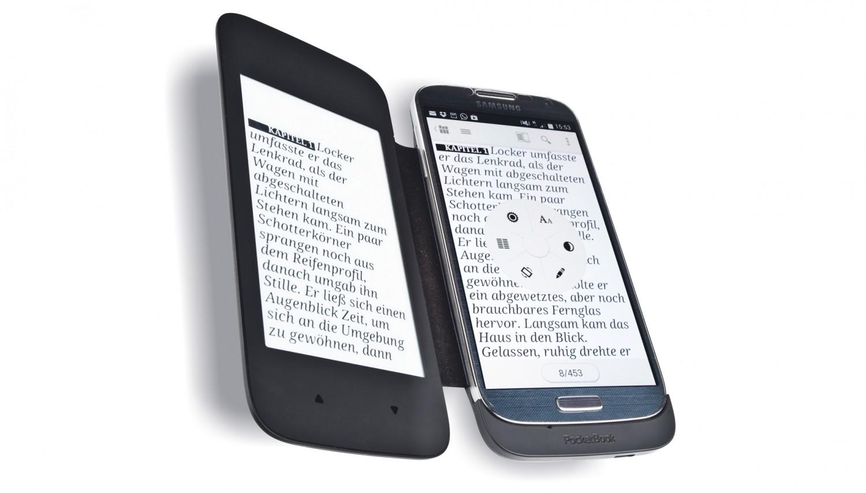 E-Book Reader Pocketbook Coverreader im Test, Bild 1