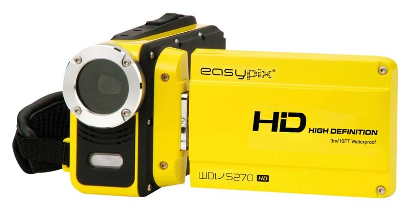 Camcorder Easypix WDV5270 HD Lagoon im Test, Bild 2
