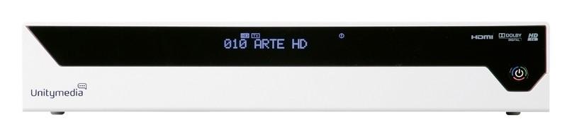 Kabel Receiver mit Festplatte Echostar HDC-601DER im Test, Bild 1