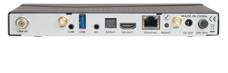 Sat Receiver ohne Festplatte EFE Multimedia Anadol ECO 4K UHD im Test, Bild 2