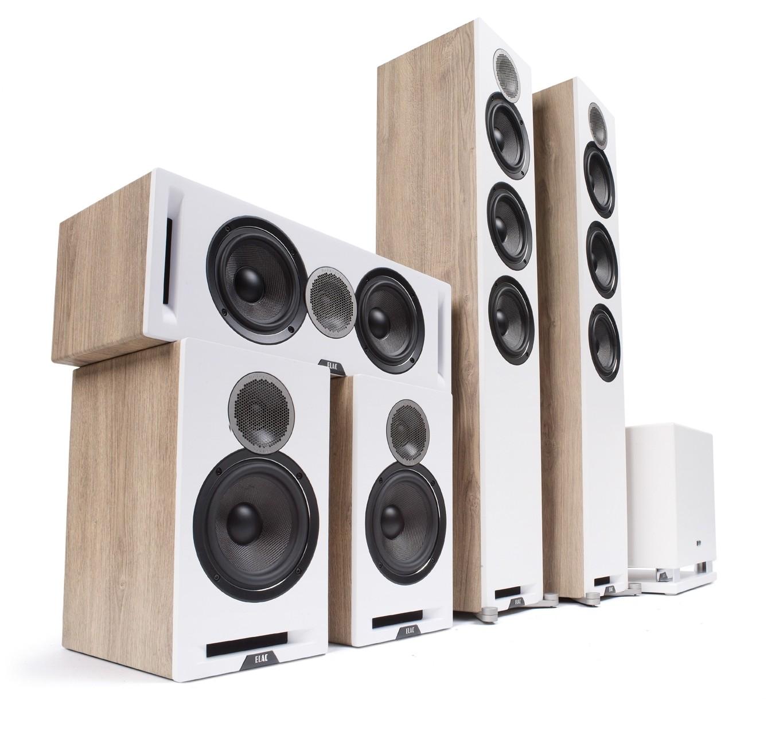 Lautsprecher Surround Elac Debut Reference 5.1-Set im Test, Bild 1