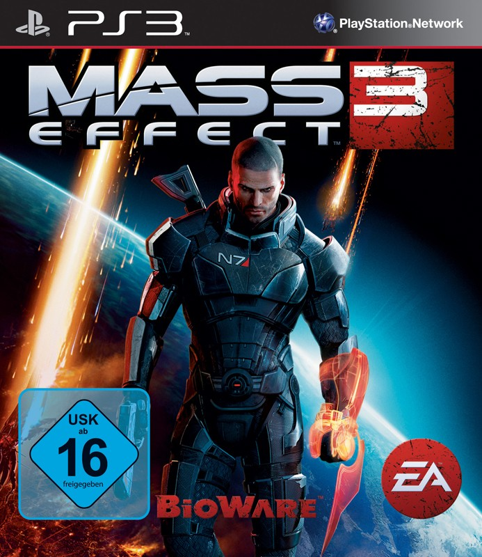 Games Playstation 3 Electronic Arts Mass Effect 3 im Test, Bild 1