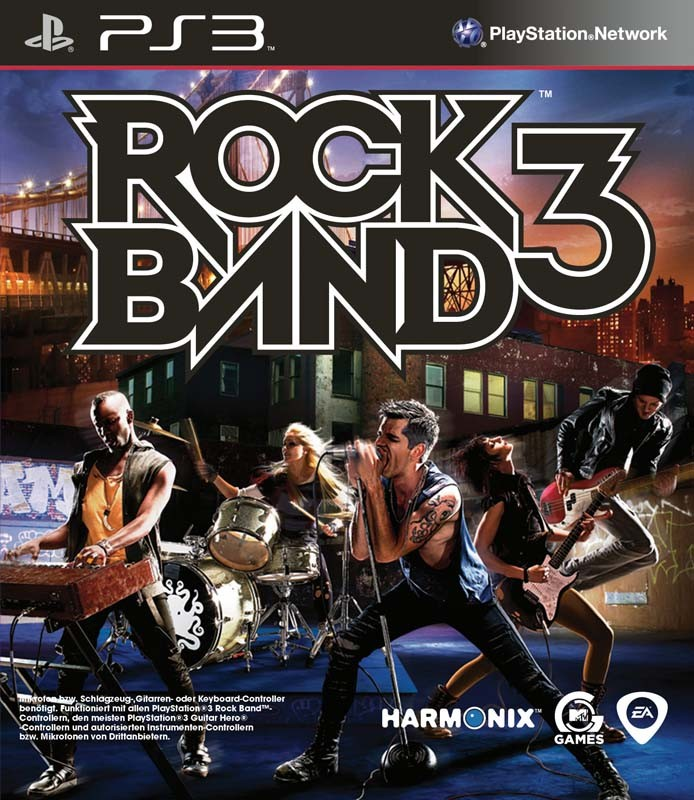 Games Playstation 3 Electronic Arts Rock Band 3 im Test, Bild 1