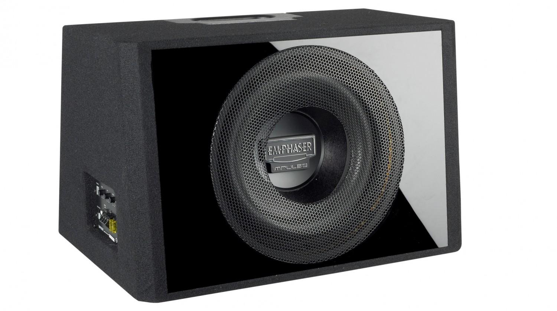 test car hifi subwoofer aktiv emphaser ebr112 p6a sehr gut. Black Bedroom Furniture Sets. Home Design Ideas