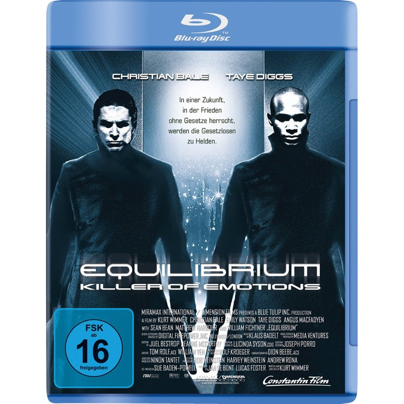 Blu-ray Film Equilibrium (Highlight) im Test, Bild 1