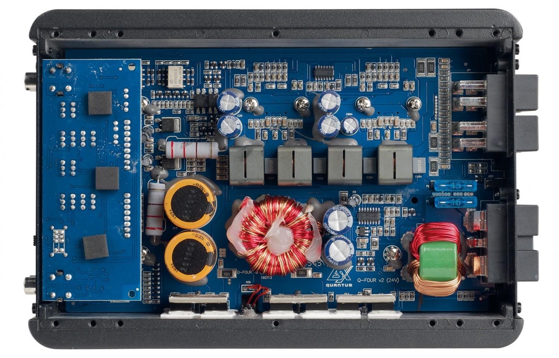 Car-HiFi Endstufe 4-Kanal ESX Q-Four v2 24V, ESX Q-One v2 24V im Test , Bild 2