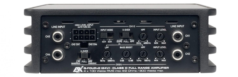 Car-HiFi Endstufe 4-Kanal ESX Q-Four v2 24V, ESX Q-One v2 24V im Test , Bild 4