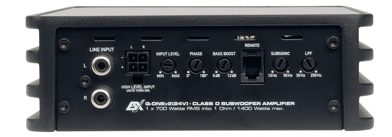 Car-HiFi Endstufe 4-Kanal ESX Q-Four v2 24V, ESX Q-One v2 24V im Test , Bild 5