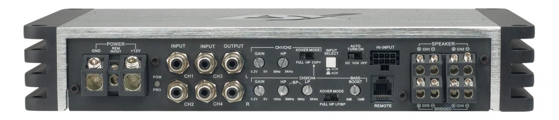 Car-HiFi Endstufe 4-Kanal ESX QE1200.4 im Test, Bild 3