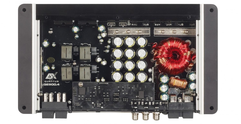 Car-HiFi Endstufe 4-Kanal ESX QE900.4 im Test, Bild 2