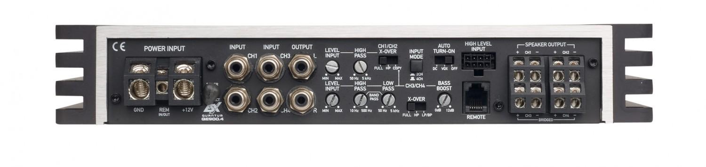 Car-HiFi Endstufe 4-Kanal ESX QE900.4 im Test, Bild 3