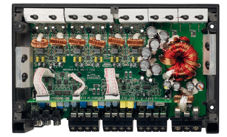 Car HiFi Endstufe Multikanal Eton SDA 100.6 im Test, Bild 3