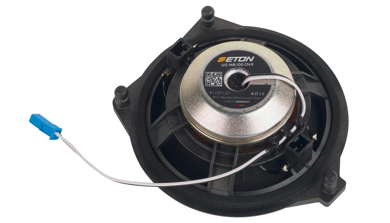 In-Car Lautsprecher fahrzeugspezifisch Eton UG MB 100 F, Eton UG MB 100 RX im Test , Bild 3