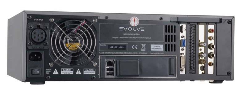 DLNA- / Netzwerk- Clients / Server / Player Evolve Media Lifestation im Test, Bild 6