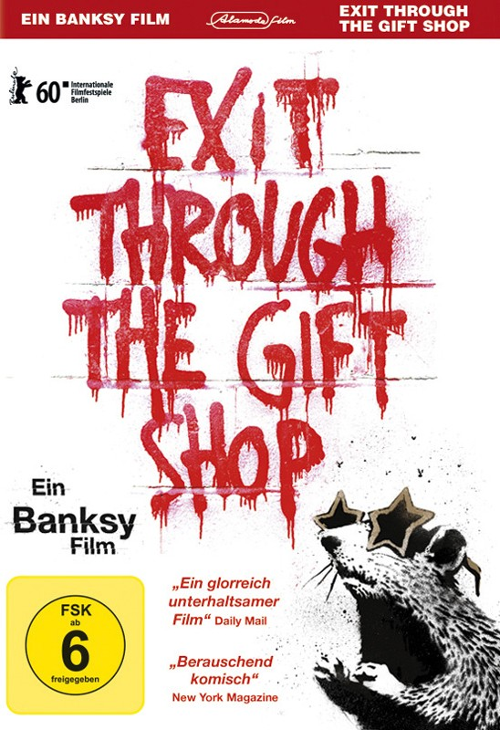 DVD Film Exit Through the Gift Shop (Al!ve) im Test, Bild 1
