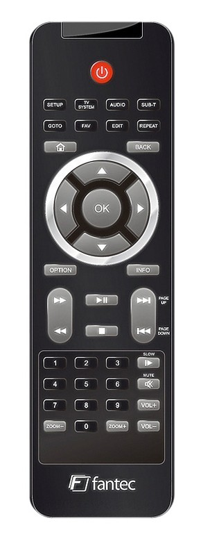 DLNA- / Netzwerk- Clients / Server / Player Fantec AluPlay HD im Test, Bild 2
