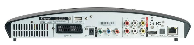 DLNA- / Netzwerk- Clients / Server / Player Fantec R2700 im Test, Bild 19