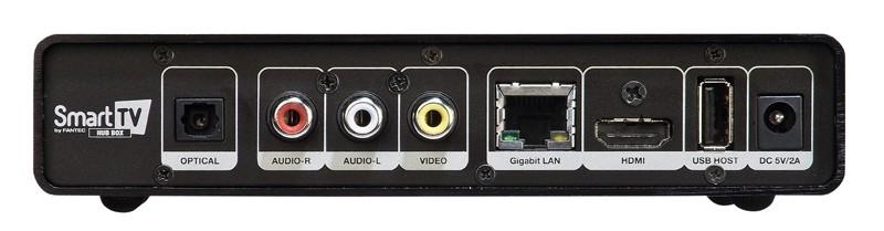 DLNA- / Netzwerk- Clients / Server / Player Fantec Smart TV Hub Box im Test, Bild 2