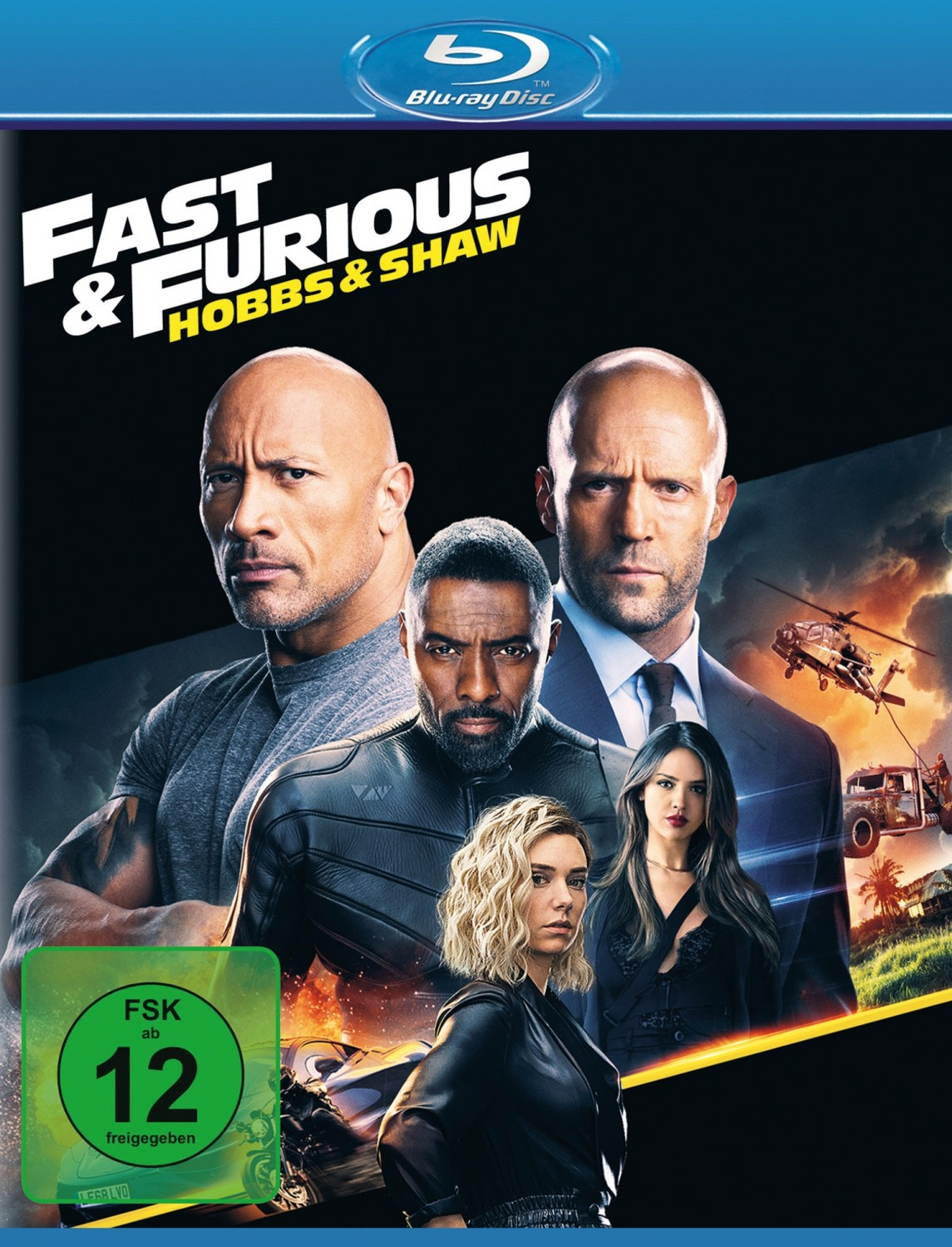 Blu-ray Film Fast & Furious: Hobbs & Shaw (Universal Pictures) im Test, Bild 1