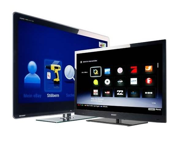 Fernseher: Fernseher für 2D und 3D mit pfiffigen Apps, Bild 1