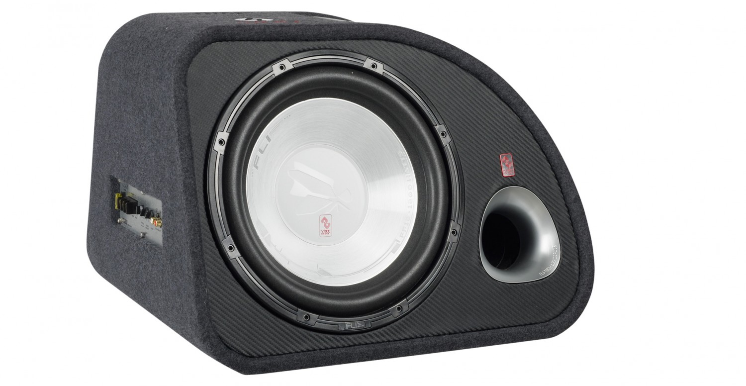 test car hifi subwoofer aktiv fli trap 12 sehr gut. Black Bedroom Furniture Sets. Home Design Ideas
