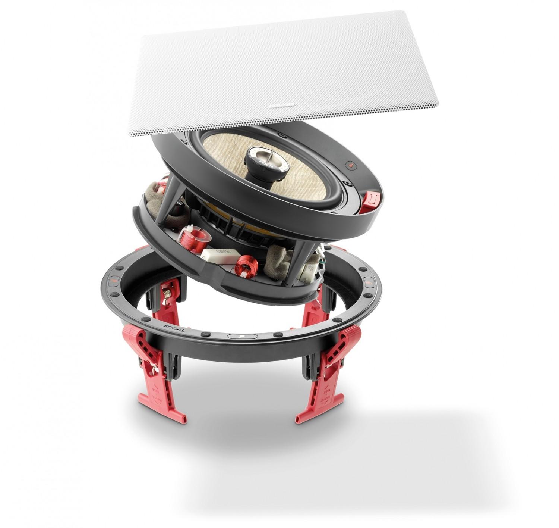 Lautsprecher Surround Focal (Home) 300IWLCR6 / 300ICW6 im Test, Bild 4