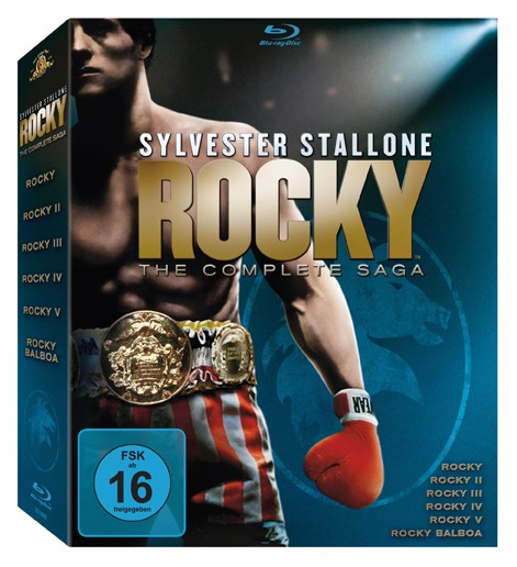 Blu-ray Film Fox Rocky - The Complete Saga im Test, Bild 1